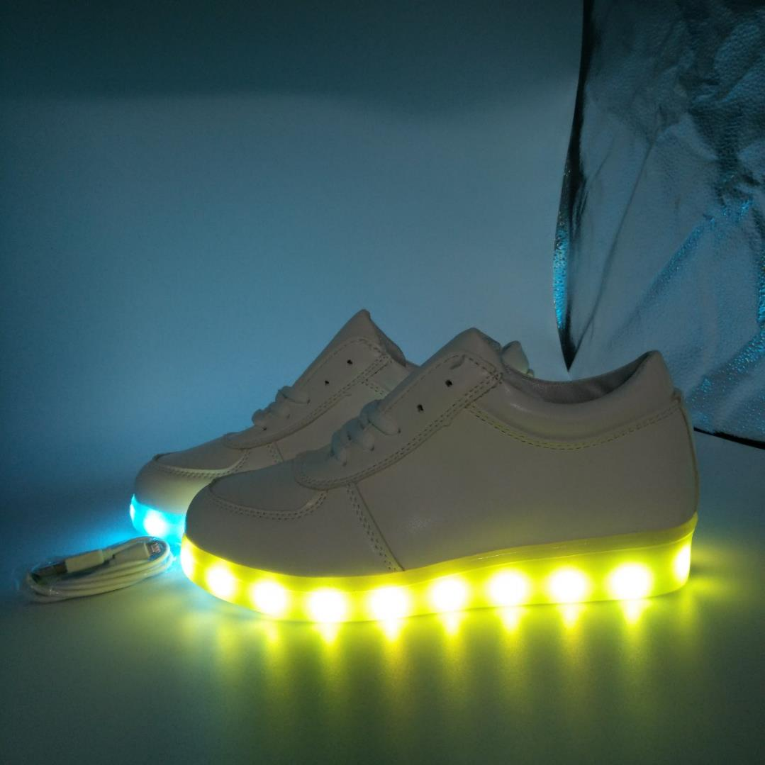 Slippers New Arrival Glowing Luminous Feminino Baskets With Light Sole Usb Charger Children Led Slippers For Boy&girl Light Up Shoes Price Remains Stable Women's Shoes