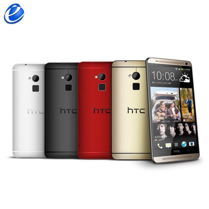 Original HTC One Max Unlocked 5 9inch Android Cellphone Fingerprint 2GB RAM 16GB 32GB ROM Quad
