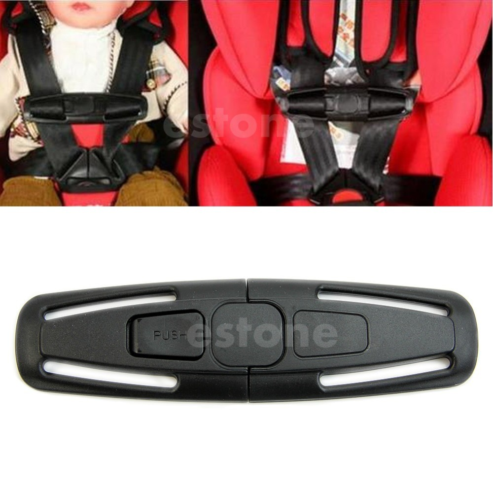 1Pcs Durable Car Baby Safety Seat Strap Belt Harness Chest Child Clip Safe Buckle