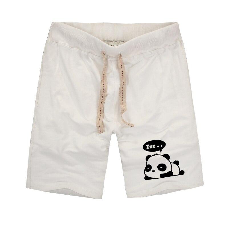 Harajuku Styles Unisex Cute Panda Impreso Pantalones cortos para - Ropa de hombre - foto 1