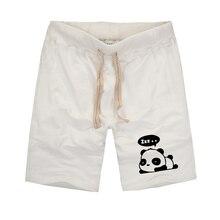 Harajuku Styles Unisex Cute Panda Printed Mens shorts 2019 Fashion Camisetas Shorts Summer Cotton Casual Shorts Plus Size S-XXXL