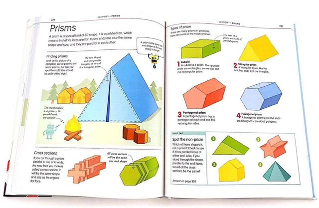 How to be Good at Maths The Simplest-ever Visual Guide Book 3