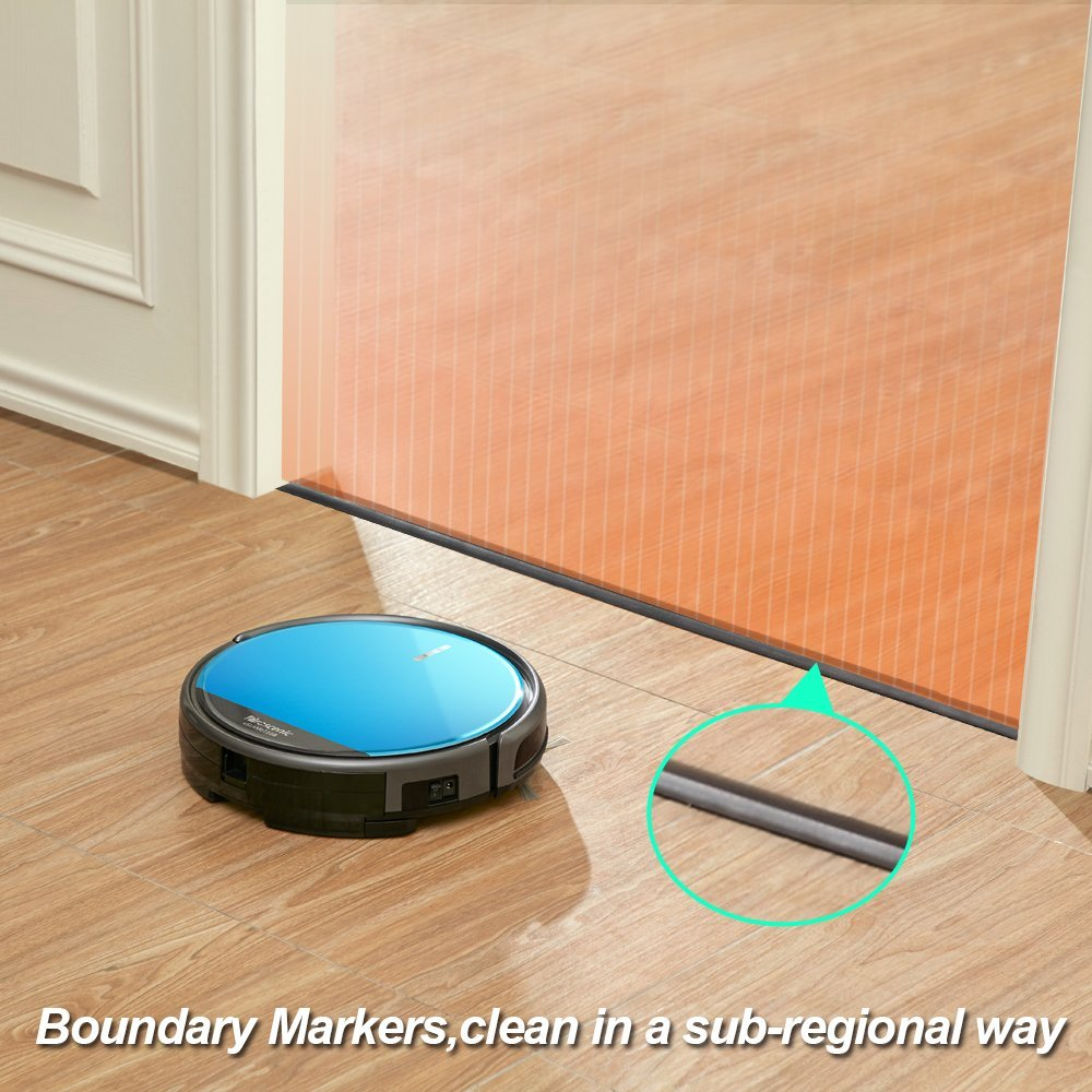 Proscenic 811GB Robotic Vacuum Cleaner with APP Control Boundary Magnetic Marker Electric Control Water Tank Robot Cleaner in Vacuum Cleaners from Home Appliances
