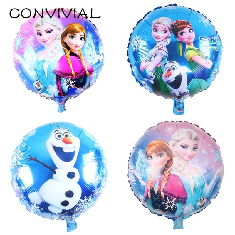 Helium Balloons Baby Shower: Aliexpress.com : Buy 10pcs Elsa Anna Princess Foil Balloon