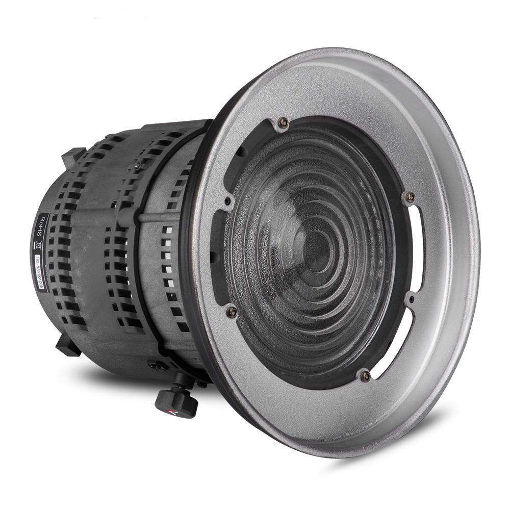 Prix pour Aputure de fresnel montage avec lentille réglable lumière-outil de mise en forme pour aputure lumière tempête cob 120 t 120d d'autres bowens montage feux