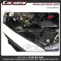 100% Real Carbon Fiber Radiator Cooling Plate Panel for 2008-2011 Mitsubishi Lancer EVO X 10 EX