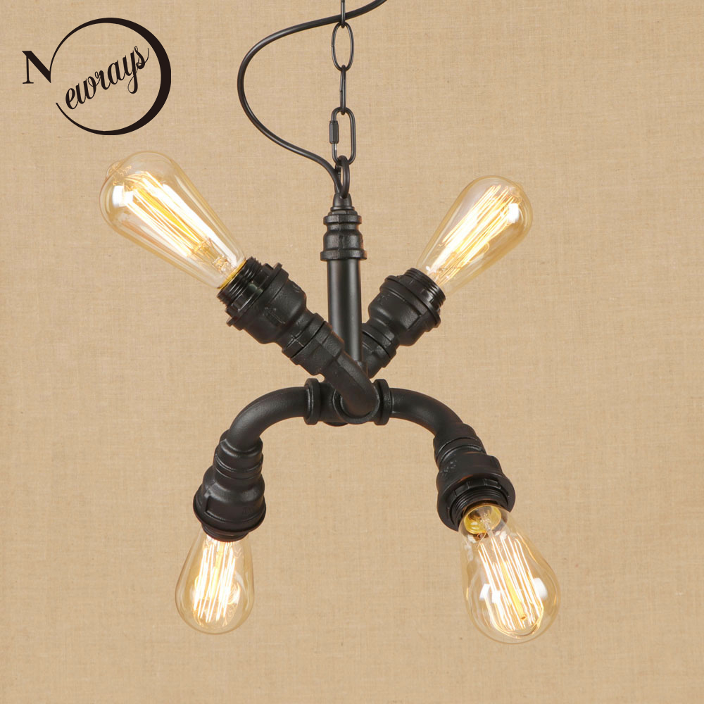 Vintage iorn american country painted Indoor pendant lights LED lamp luminaire suspension 220v for dinning room hotel bed roomVintage iorn american country painted Indoor pendant lights LED lamp luminaire suspension 220v for dinning room hotel bed room