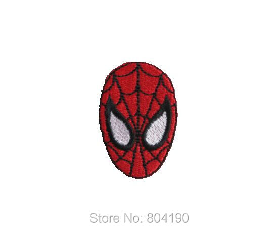 MEN Logo Suit Marvel Comic Movie Red Badge Iron on Embroidered Patch applique