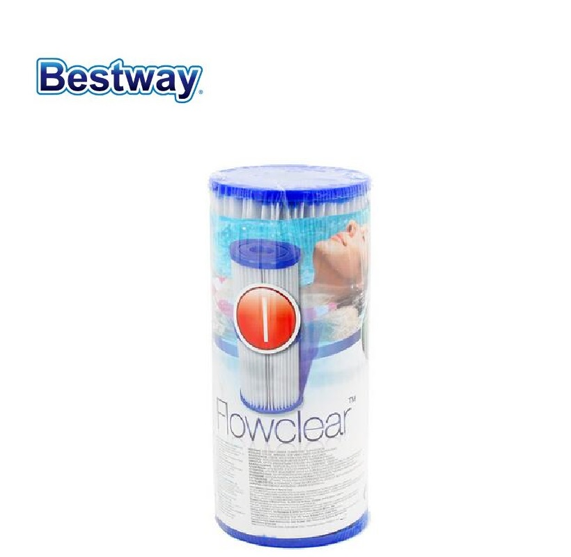 2 Pcs of 58093 Bestway Filter Cartridge Filter Cartridges Diameter 8cm Ht 9cm Filter Core For Swimming Pool Filter Pump 58381
