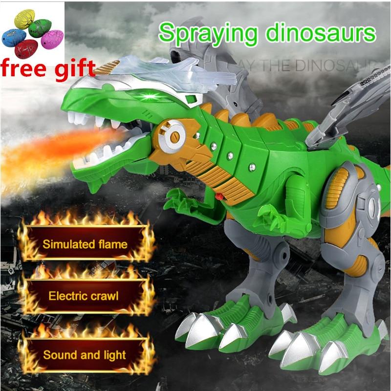 Électrique Interactive Dinosaures Jouets de Dragon Mécanique Dinosaures Pour Jeux Enfants Jouets Électroniques Animaux 2018 Cadeau De Noël