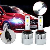 2017 1Pair H7 COB 72W Top Car Headlight 8000LM LED Fog Kit Car Beam Bulbs White