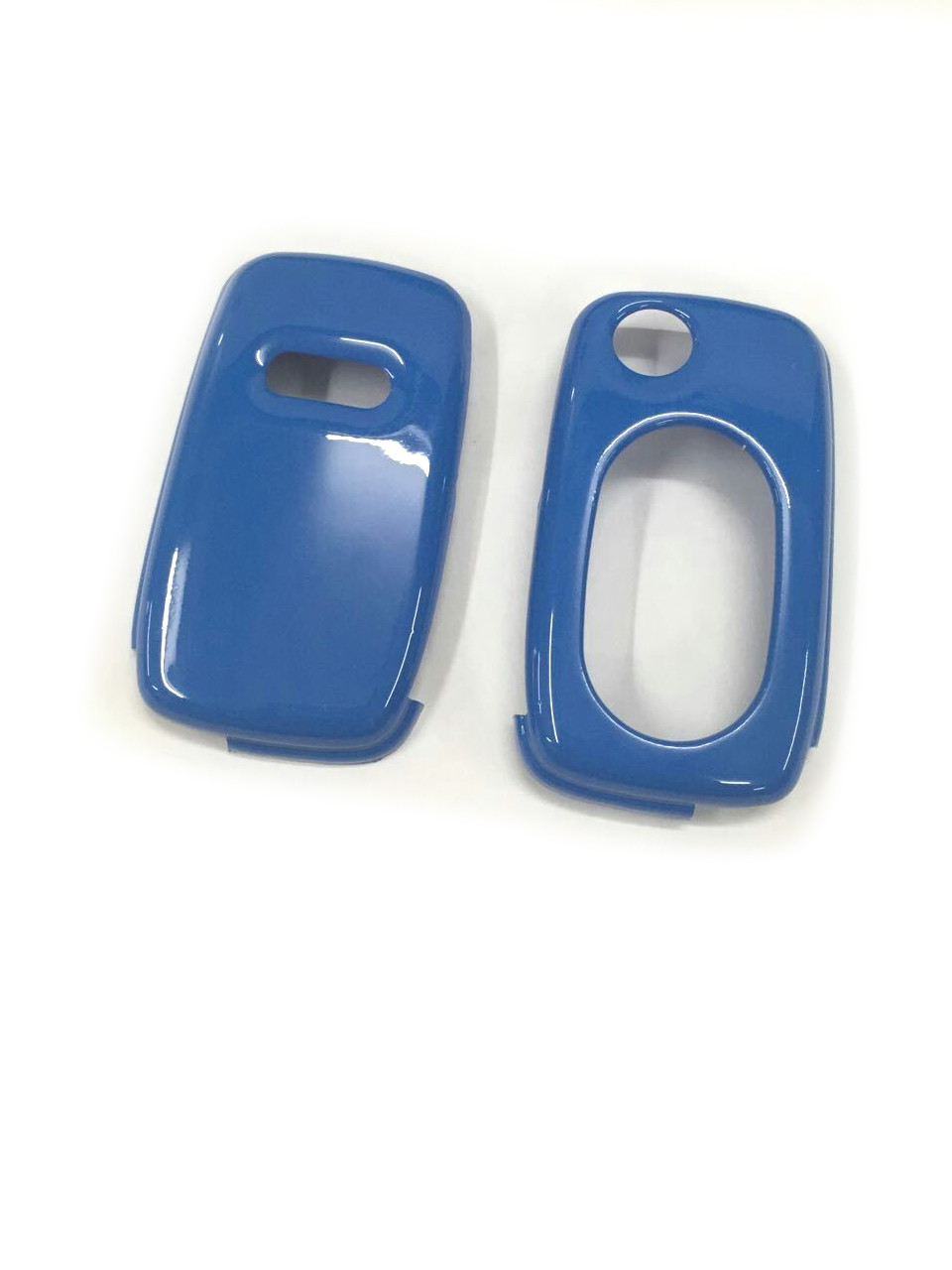 Gloss Blue Color Flip <font><b>Key</b></font> <font><b>Remote</b></font> <font><b>Key</b></font> Protection Case For <font><b>Audi</b></font> A3 8L A4 B5 B6 TT MK1 <font><b>A6</b></font> <font><b>C5</b></font> image