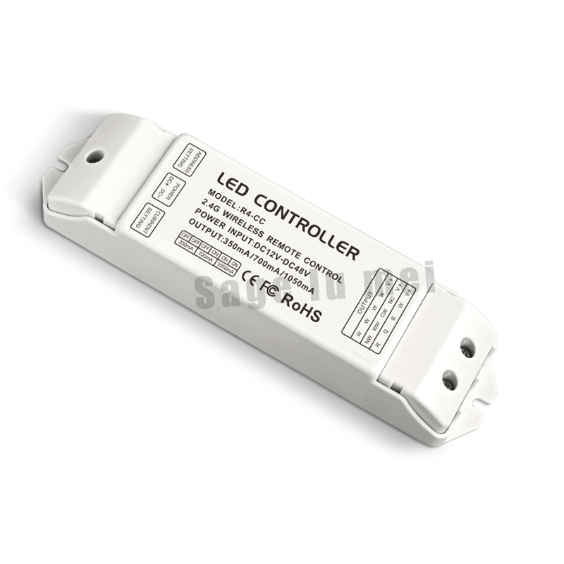 ltech R4-CC Zone constant current receiver DMX512 decoder led Receiving controller DMX signal driver 2.4G wireless led dimmer купить