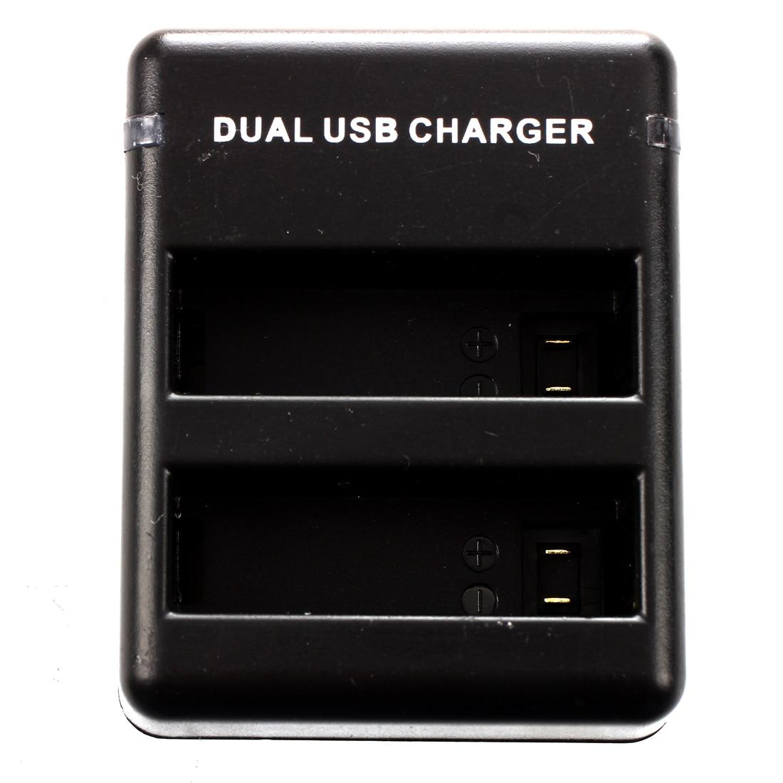 3 x AHDBT-401 литий-ионный Батарея + Dual USB Зарядное устройство для <font><b>GoPro</b></font> <font><b>Hero</b></font> <font><b>4</b></font> Камера-черный