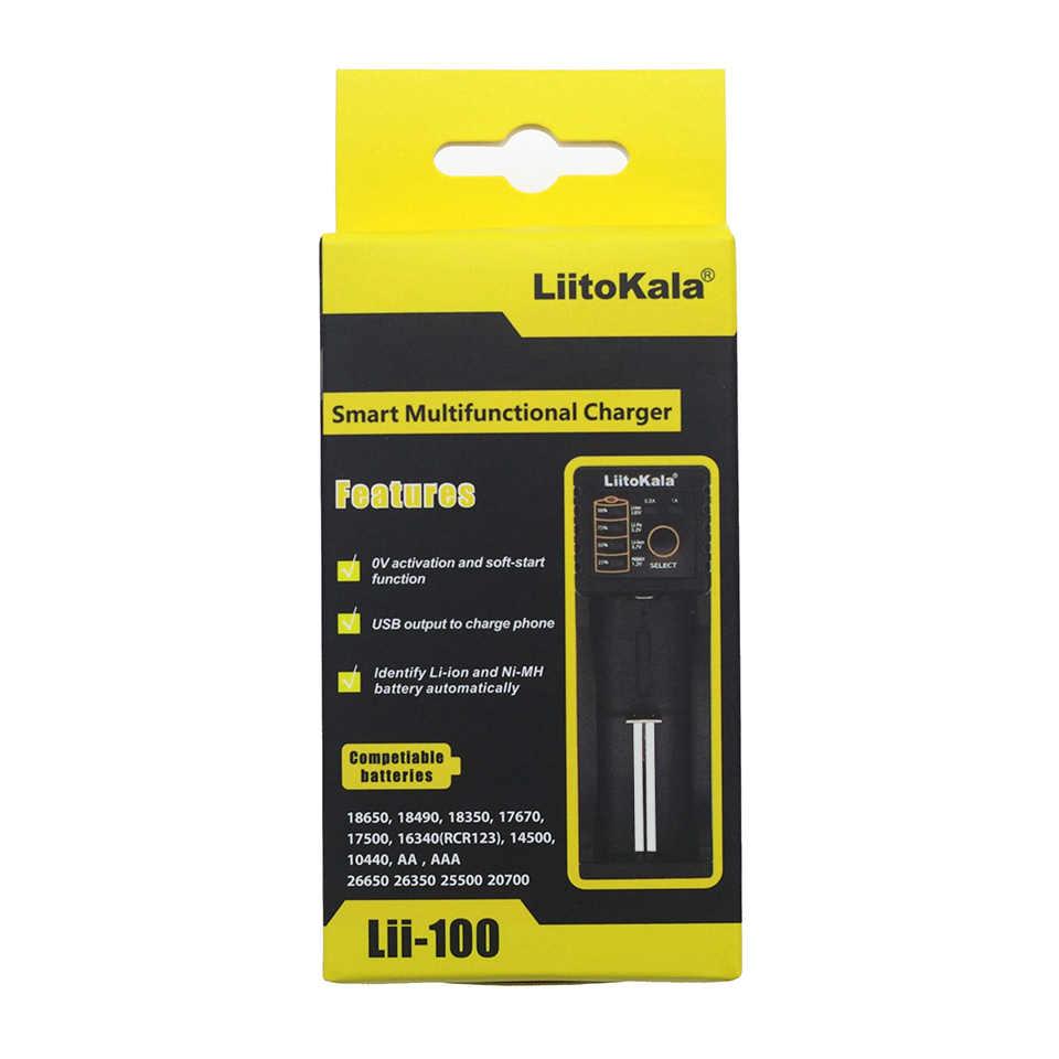 Liitokala Lii-100 Lii-202 Lii-402 Lii-PD4 Lcd Batterij Oplader, Opladen 18650 3.7V 18350 26650 18350 Nimh Lithium Batterij