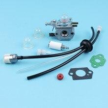 Карбюратор для топливных фильтров, комплект для топливных трубок ECHO SRM2100 GT2000 GT2100 PAS2000, триммер Zama, C1U K29