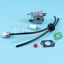Carburatore Filtro Del Carburante Linea Vent Pompetta Kit Per ECHO SRM2100 GT2000 GT2100 PAS2000 Trimmer Zama C1U K29 C1U K47 C1U K52