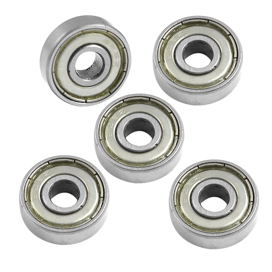BHBD <font><b>626Z</b></font> 6mm x 19mm x 6mm Shielded Radial Miniature Deep Groove Ball <font><b>Bearing</b></font> 5 pcs image