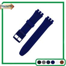 Faixa De Relógio de Borracha de Silicone para a Amostra de 16mm 17mm 19mm 20mm Homens mulheres Resin Strap Correia de Pulso Pulseira Laço Preto Branco Vermelho Azul