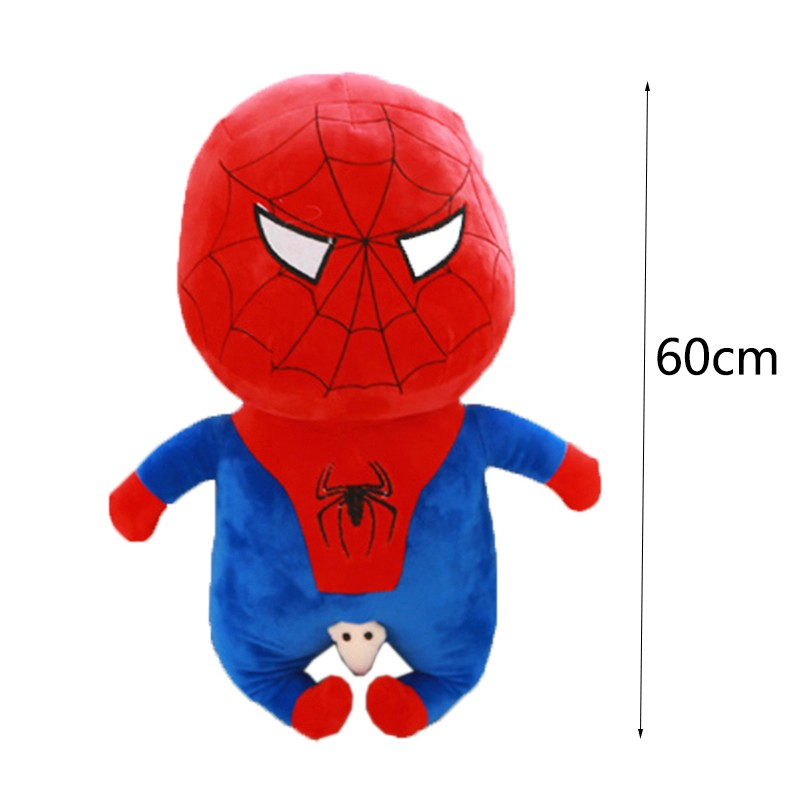 60-Cm-Toy-Doll-Avengers-Captain-America-Superman-Spider-man-Batman-Plush-Toys-Dolls-Soft-Cute-Crayon-Shin-chan-Cosplay-Japan-Cartoon-TY0019 (6)