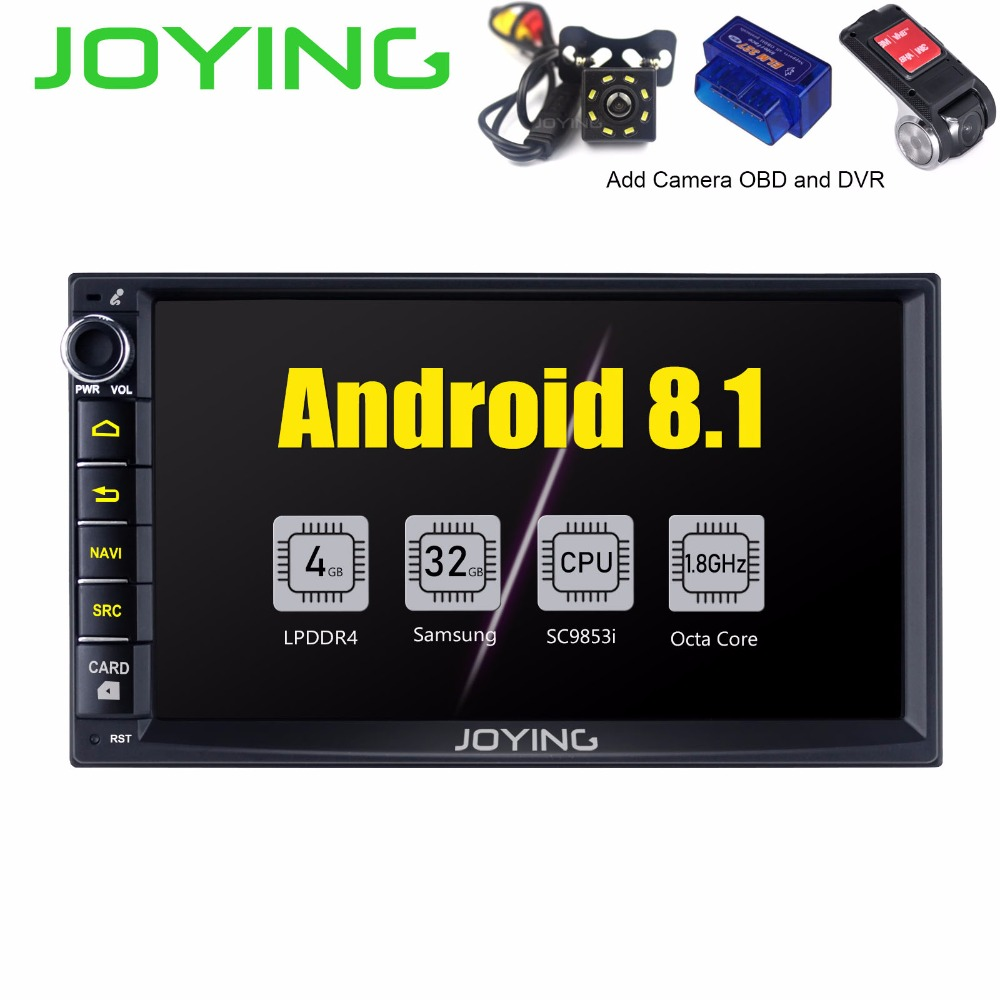 New Product Double 2Din 7 Intel Octa Core Head Unit Multimedia DVD Player Android 8 1
