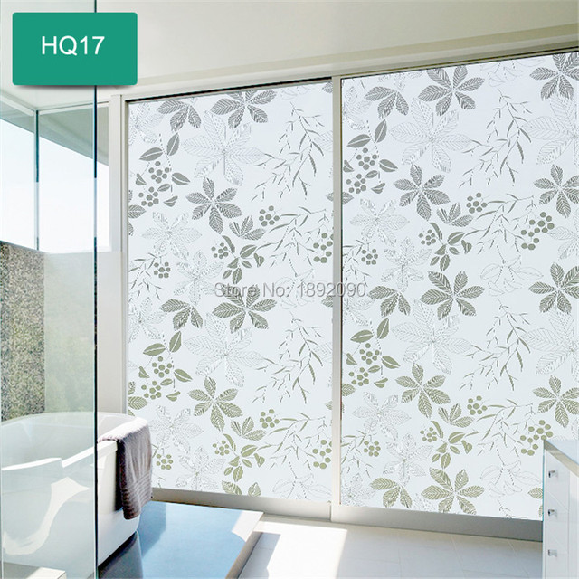 90cm wide200cm long customized privacy window film opaque frosted self adhesive window stickers