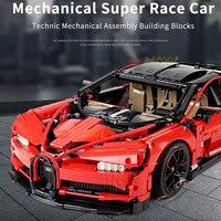 3625 pcs Bugatti Chiron 42083 Super Racing Car Building Blocks Technic Mechanical Bricks Construction Toys For Adults Collection