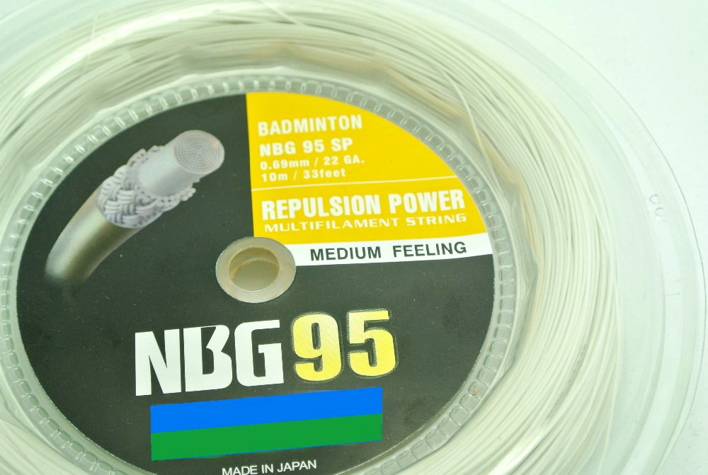 High Quality Medium Felling Badminton String/ Racket String NBG 95  200 Meters Free Shipping