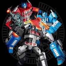 32 см YX MP10 MPP10 металла модель трансформации G1 робот игрушка сплав MP-10 командующий литья под давлением Коллекция фигурку для детей подарок