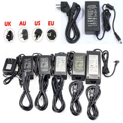 Светодиодный блок питания 5 в 12 В 24 В DC адаптер питания 110 В 220 В переменного тока до 12 вольт переключатель освещения трансформатор для CCTV свет...