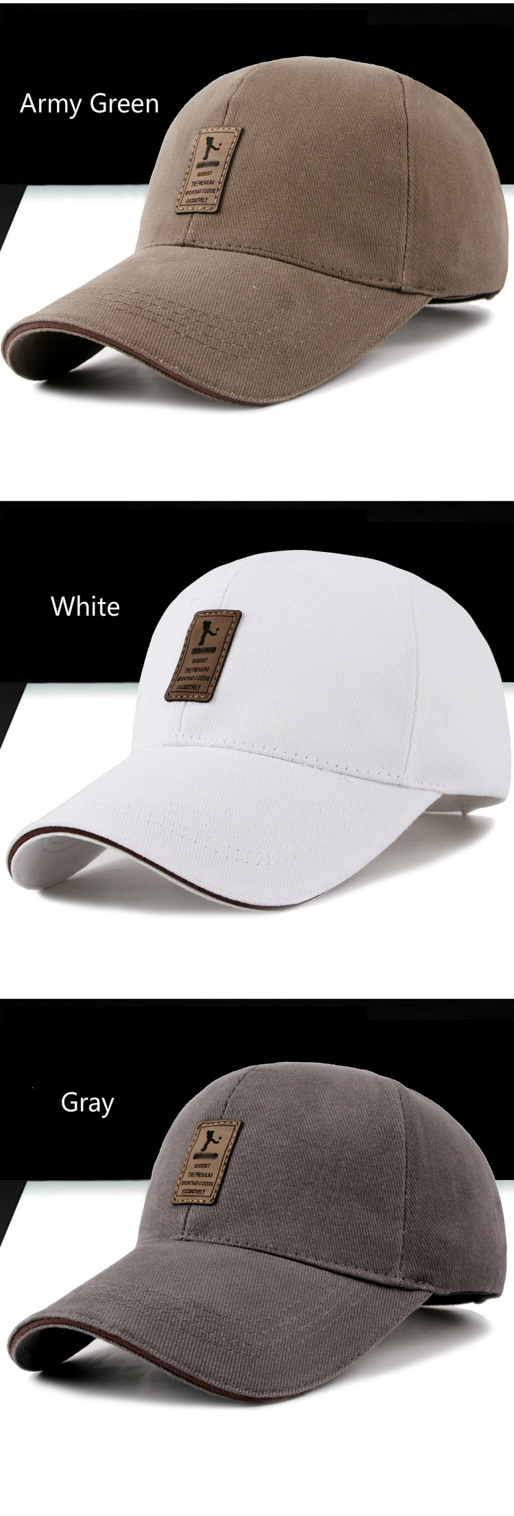 7 Colors Golf Hats for Men and Women 22