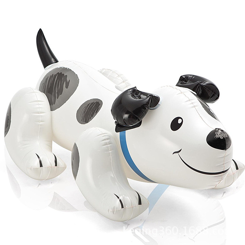 high quality 108 71cm dog shaped water toys children inflatable swimming pool toys for kids aged