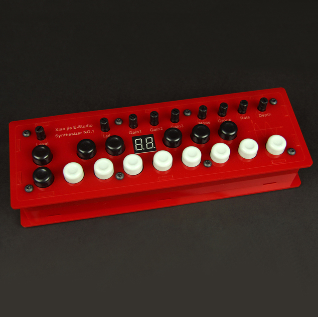 DIY MOD Synthesizer NO.1 Pedal Outboard Electric Guitar Stomp Box Effect Amplifier AMP Acoustic Accessorie