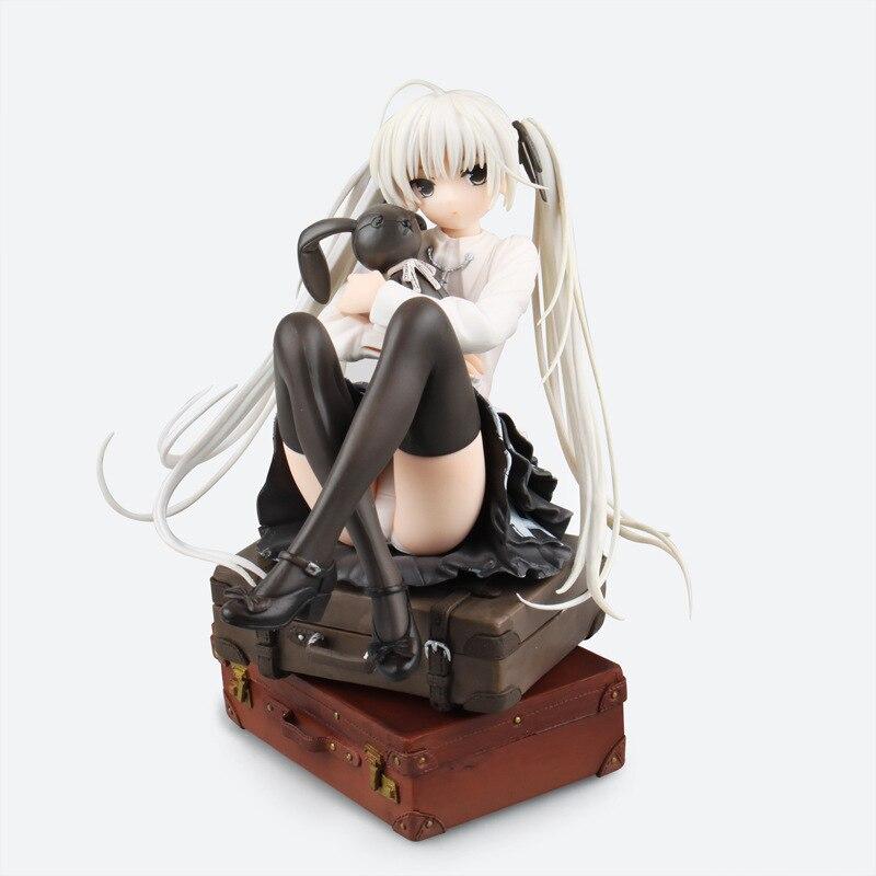 HKXZM Anime 18 CM dans la Solitude où nous sommes les moins seuls Sora Kasugano 1/7 échelle prépeinte PVC Figure modèle jouet cadeau de collection