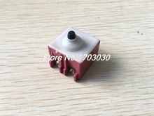 Angle Grinder AC 250V 6A 125V/12A DPST Pushbutton Switch for Bosch 6-100