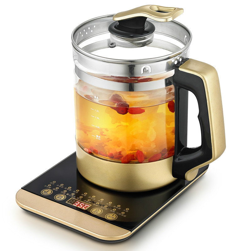 Electric kettle health pot is fully automatic Add thick glass multi-function boiled tea machine electric kettle flower teapo помада maybelline new york maybelline new york ma010lwjkz94