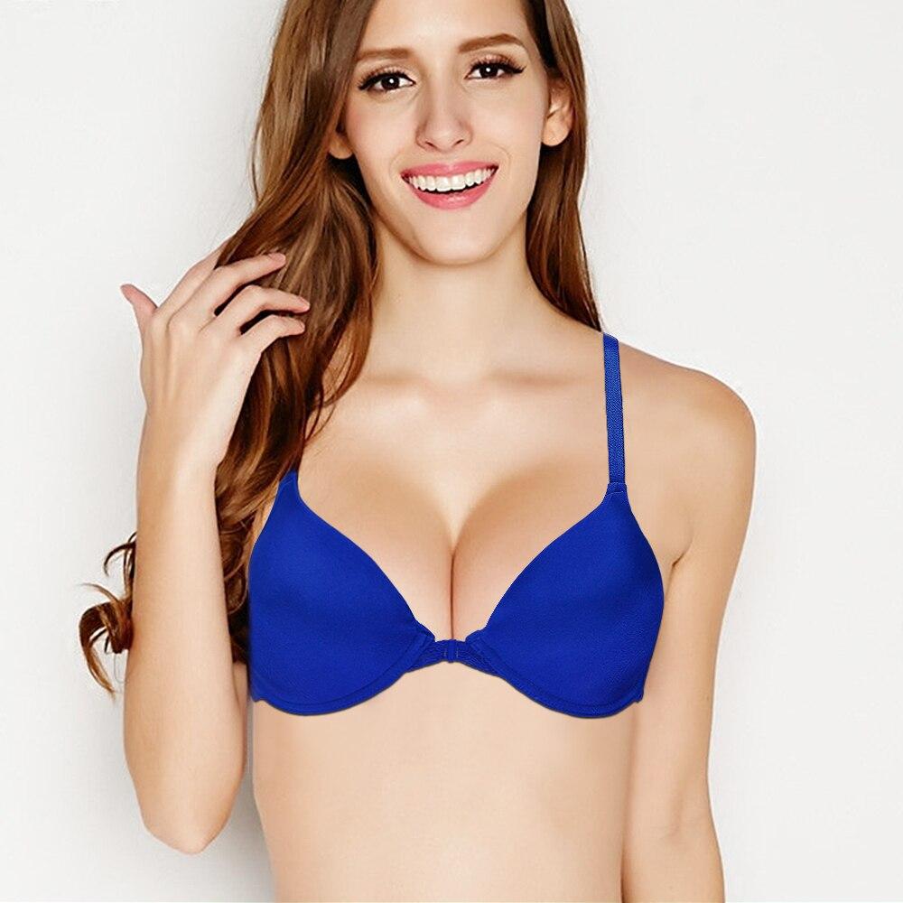6070be91a Hot Top Bra Lace Bralette Y line BH Underwire Underwear Sexy Lingerie Women  Girl Gift Plus Size 70 75 80 85 90 95 100 A B C D DD-in Bras from Underwear  ...