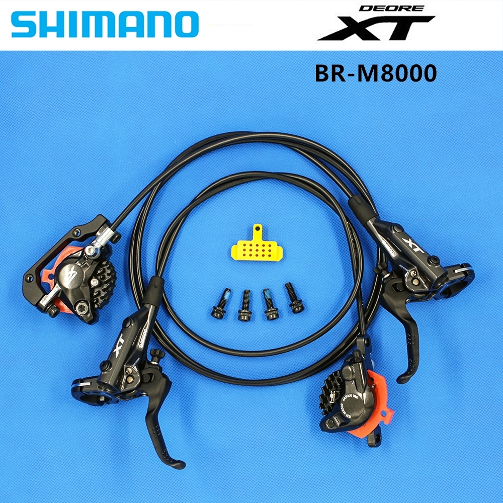 Shimano Deore XT BR M8000 MTB Mountain Disc Brakes Hydraulic Left Right 800 1500mm