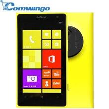 "Original Nokia Lumia 1020 Unlocked Window Phone 8 WCDMA Dual-core 4.5"" HD 1080P 41.0MP 32GB WIFI GPS 3G Mobile phones"
