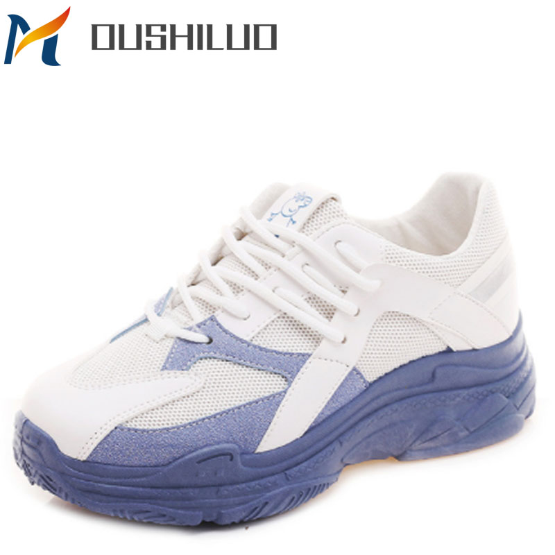 Casuales yellow Para Mujer Transpirable Zapato red Moda Blue Femmes Pour 2019 De Chaussures Y Malla Zapatos pqaa8Z