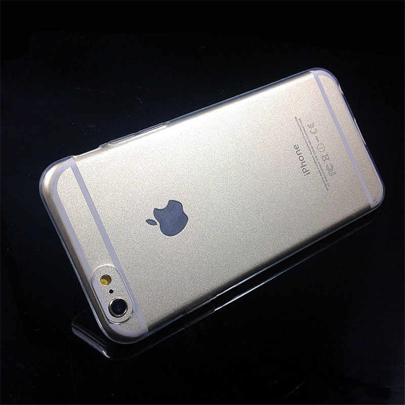 TPU ل فون X Xs ماكس XR 5 5s se 6 6S زائد حالة المحمول اكسسوارات كوكه ل apple فون 7 8 زائد غطاء دون شعار