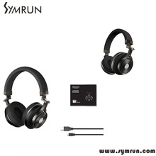 Symrun 3D Stereo Deep Bass Headphones With Microphone For Mobile Phone Mp3 Mp4 T2 Headset Mobile