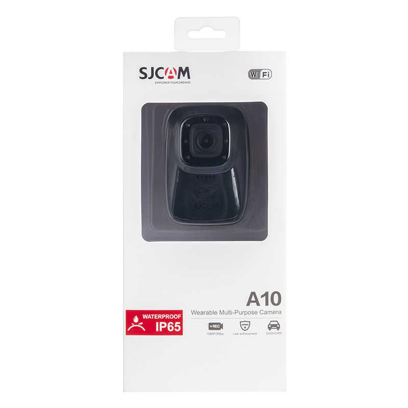 SJCAM A10 Портативный мини WI-FI спортивные Камера беспроводные IR-Cut B/W Переключатель Ночное видение Лазерная лампа инфракрасного Action Cam 2650 мА/ч, Батарея