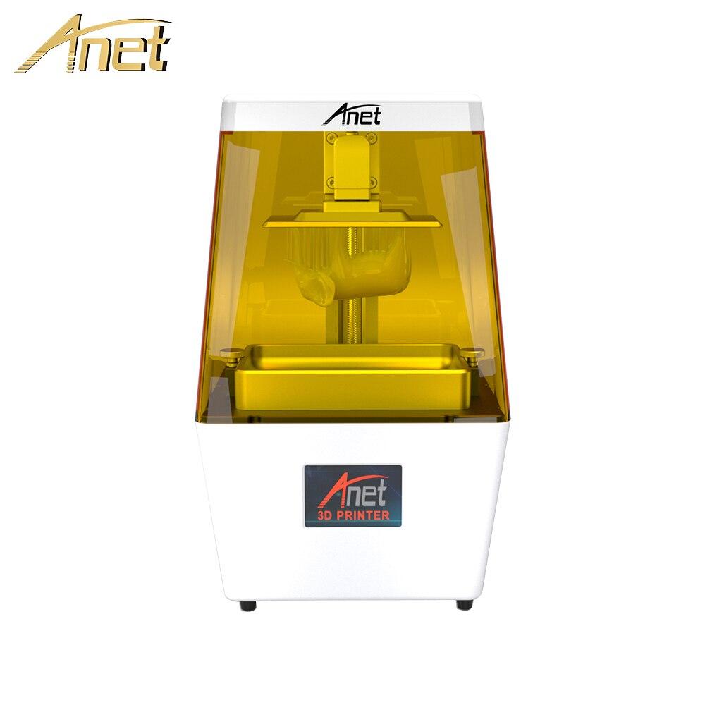 Imprimante 3D Anet N4 Ultra haute précision 40um SLA résine UV photosensible photopolymérisable imprimante de bureau Impresora 3D Drucker