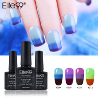 Elite99 All 32pcs 10ml Gel Varnish Nail Gel Polish 3 in 1 Temperature Color Changing Nail Thermal Color Change UV Gel Lacquer