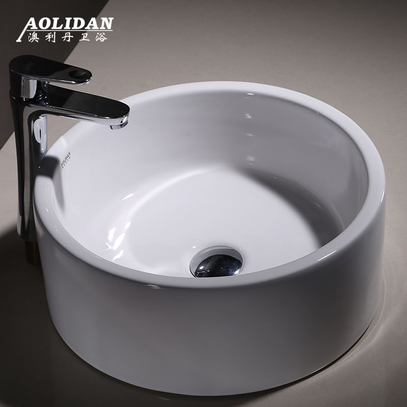 Getrouw 2017 Shampoo Gootstenen Sink Douchegordijn Rideau De Douche Cortina Ducha Keramische Wastafel Wastafel Ronde Art Aanrecht Wc Wassen Goed Verkopen Over De Hele Wereld