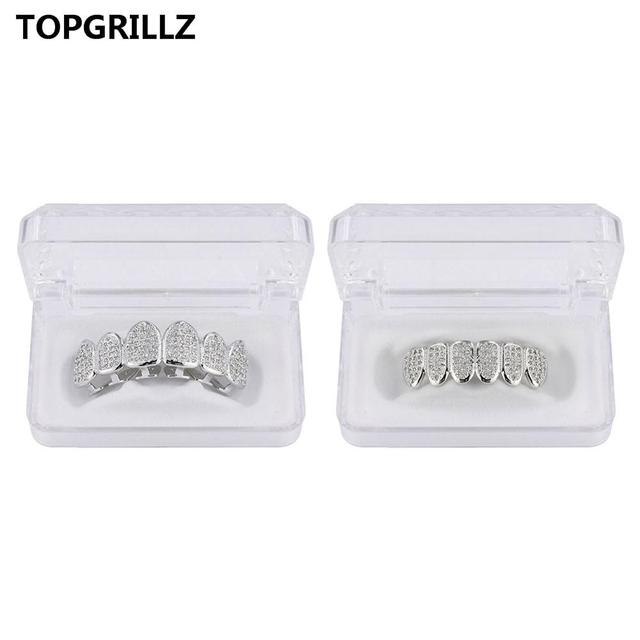 TOPGRILLZ Hip Hop Gold...