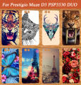 Diy Painting Colored Case Cover For Prestigio Muze D3 PSP3530 DUO 3530 Duo Case E3 PSP3531 DUO 3531 Case Cover Pattern Phone Bag