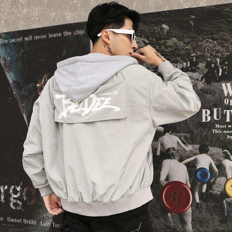 Vintage printemps Bomber vestes hommes automne Anorak Streetwear japonais veste hommes Mandarin col Pana Hombre Rave vêtements 5J83