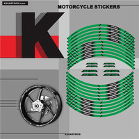 New sale Motorcycle tyre Stickers inner wheel reflective decoration decals for KAWASAKI ZX 10R zx10r